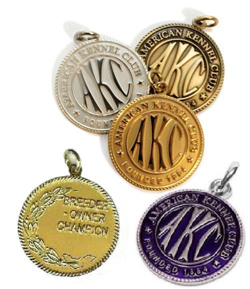 akc medals